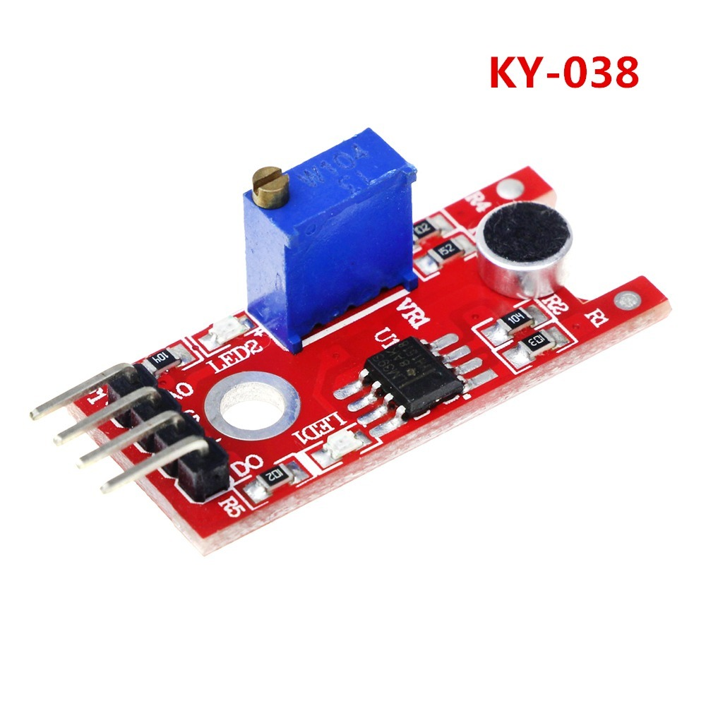 Ky 038 Microphone Sound Sensor Module For Arduino Dropout Store Circuit